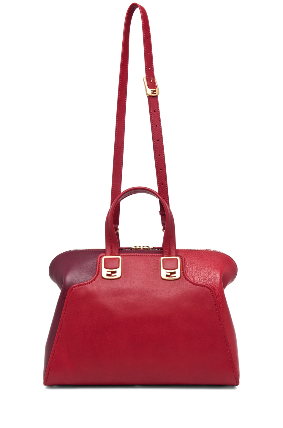 Image 5 of Fendi Chameleon Duffle in Red