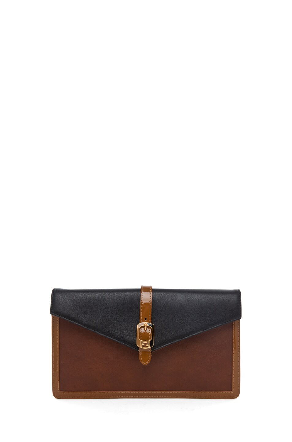 Image 1 of Fendi Envelope Purse in Tobacco