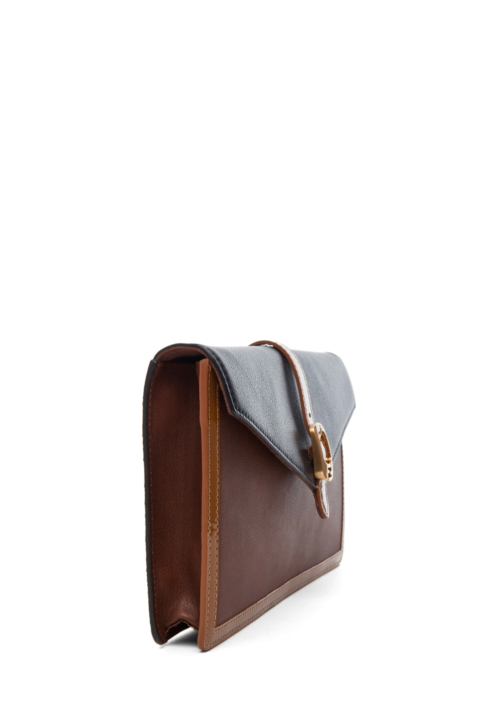 Image 3 of Fendi Envelope Purse in Tobacco