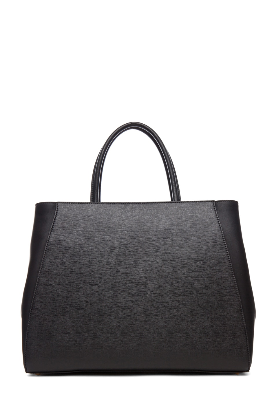 Image 2 of Fendi Medium Shopper Bag in Black