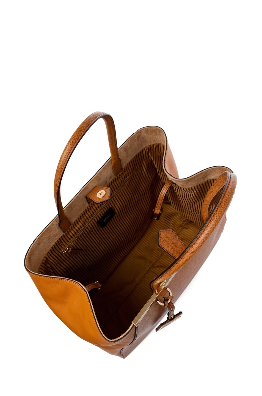 Image 4 of Fendi Large Shopper Bag in Dark Orange