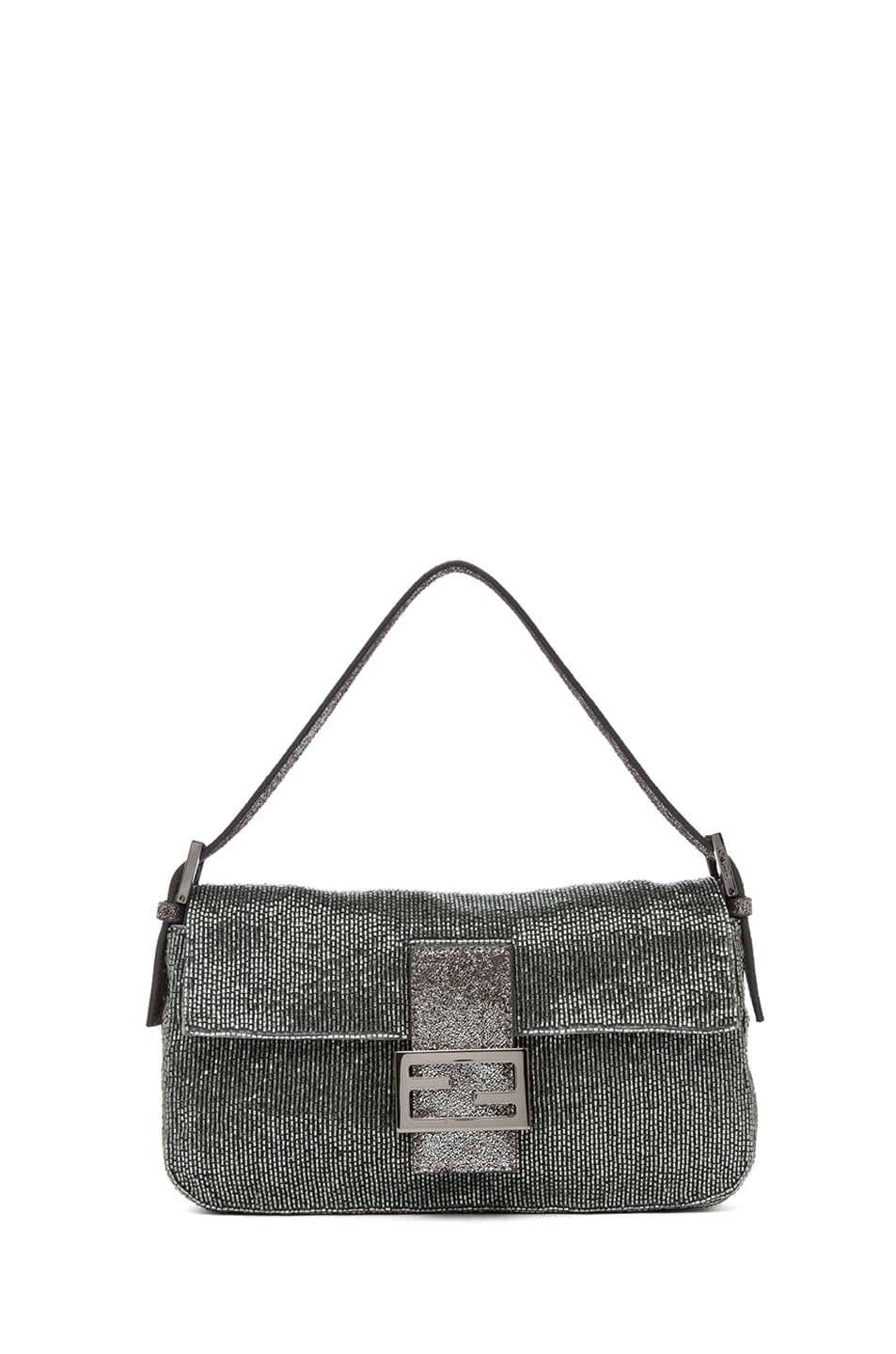 Image 1 of Fendi Baguette in Pewter
