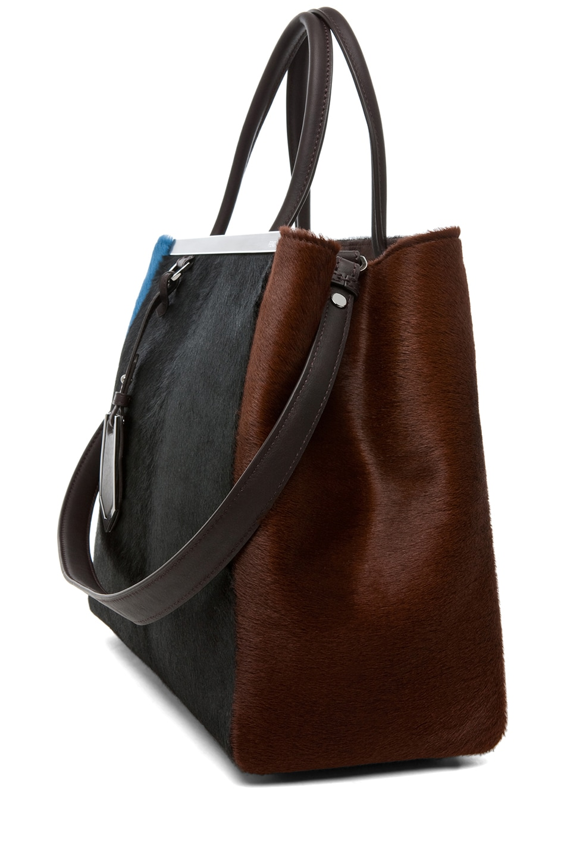 Image 4 of Fendi Handbag in Black & Brown
