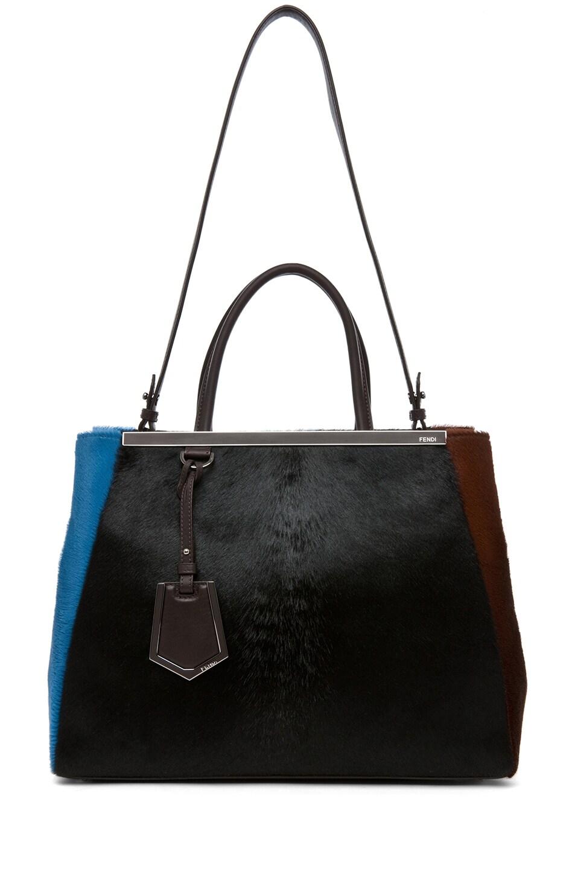 Image 6 of Fendi Handbag in Black & Brown