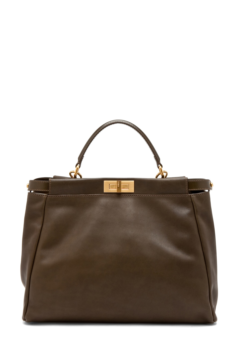 Image 2 of Fendi Peekaboo Handbag in Olive
