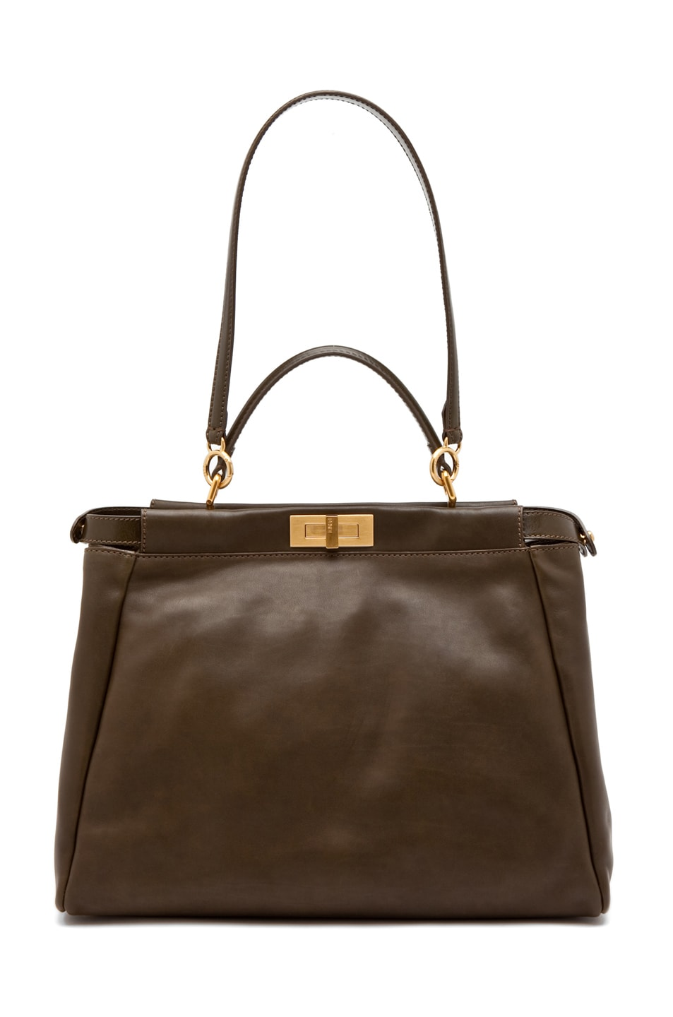 Image 5 of Fendi Peekaboo Handbag in Olive