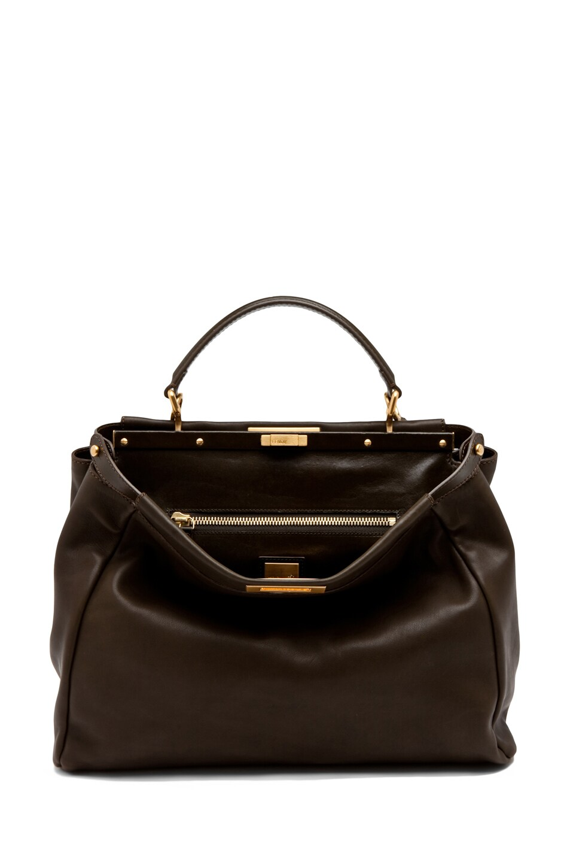 Image 6 of Fendi Peekaboo Handbag in Olive