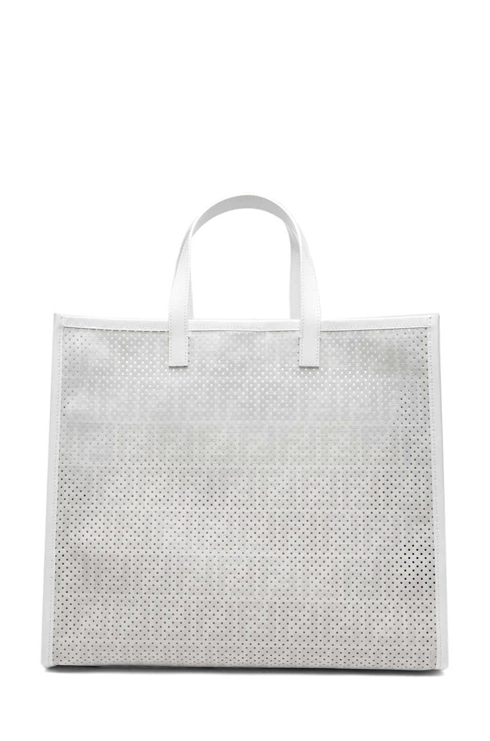 Image 2 of Fendi Shopping Tote in White