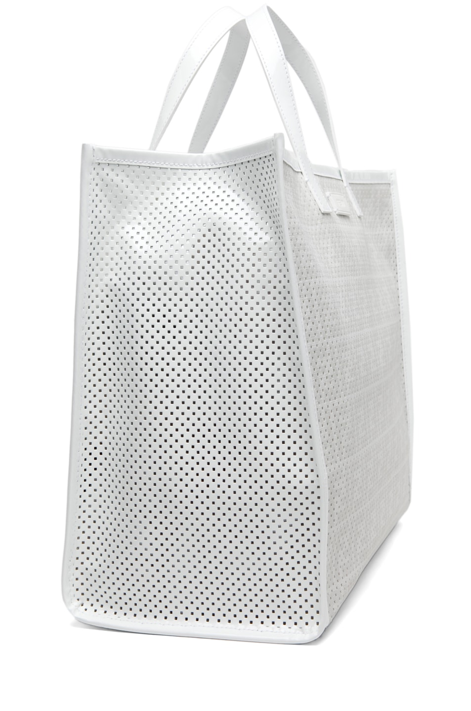 Image 4 of Fendi Shopping Tote in White