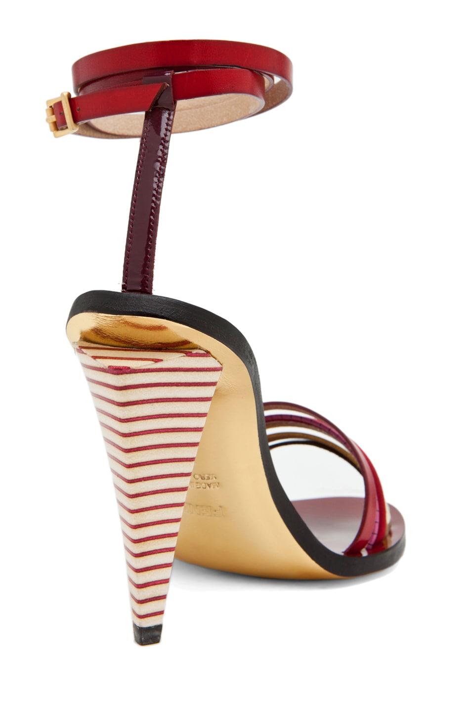 Image 4 of Fendi Mid Heel in Red Multi