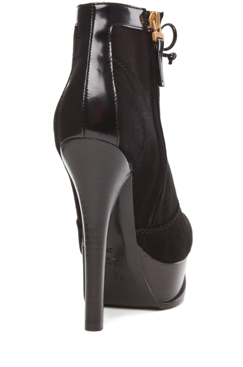 Image 3 of Fendi Fendista Bootie in Black
