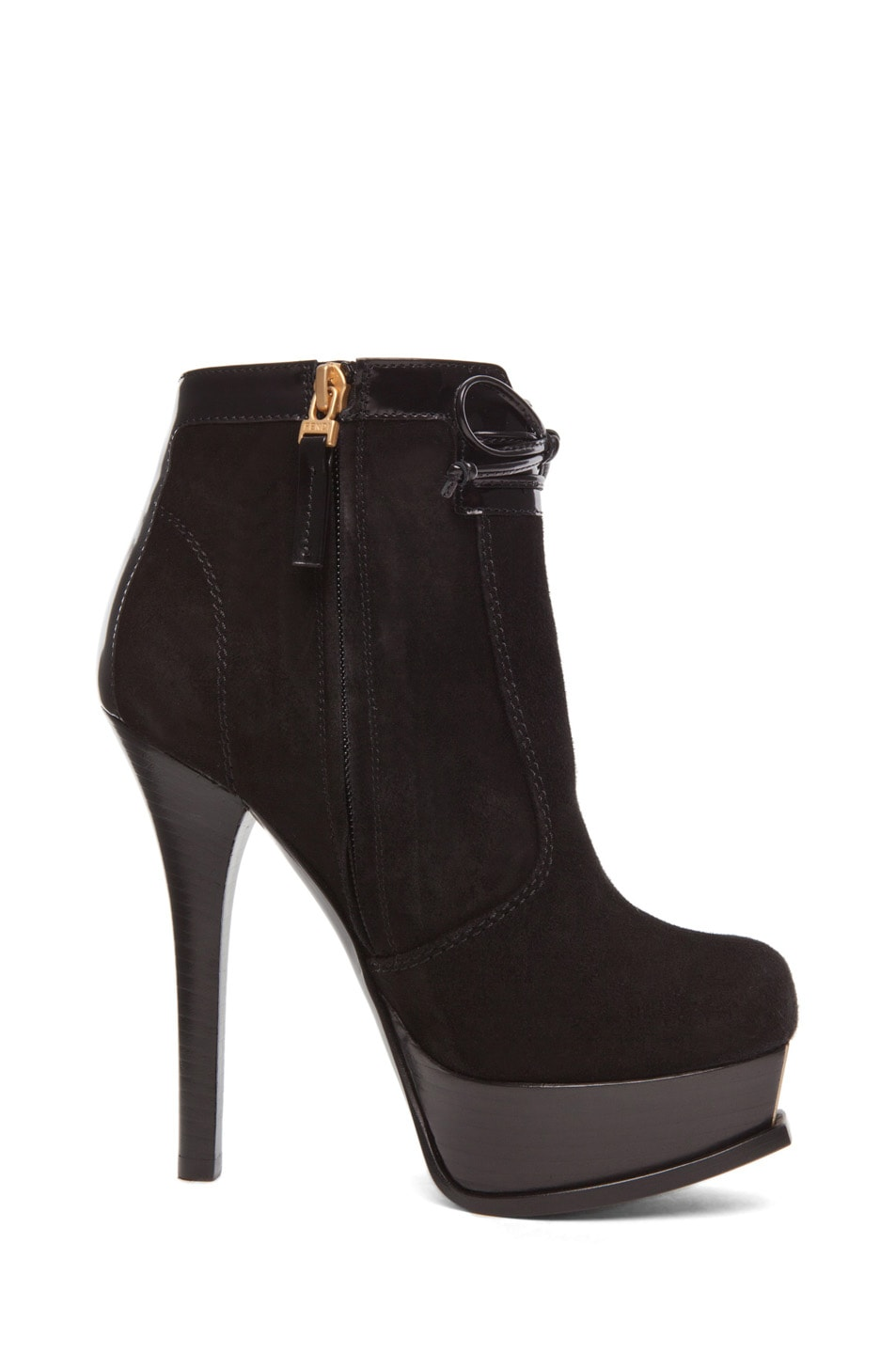 Image 5 of Fendi Fendista Bootie in Black