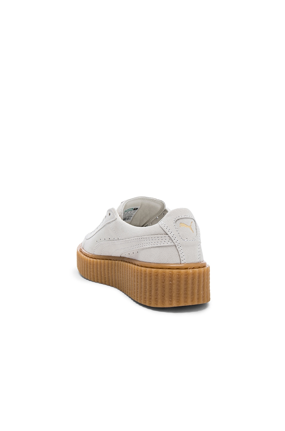 Image 3 of Fenty by Puma Suede Creepers in Star White