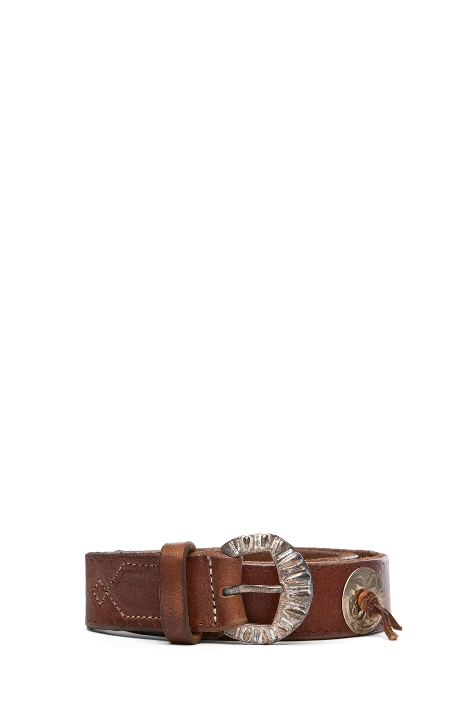 Image 1 of Golden Goose Mexico Belt in Brown
