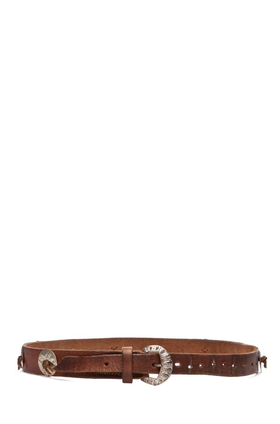Image 2 of Golden Goose Mexico Belt in Brown