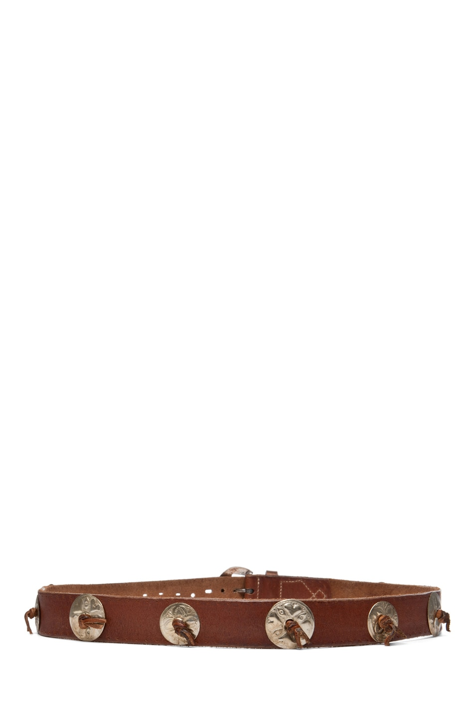 Image 3 of Golden Goose Mexico Belt in Brown