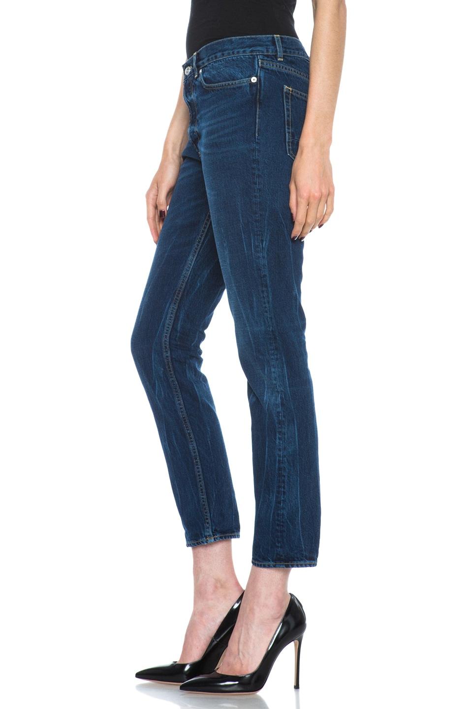 Image 2 of Golden Goose Jeans Dark Wash in Blue