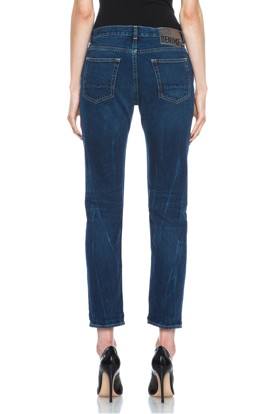 Image 4 of Golden Goose Jeans Dark Wash in Blue