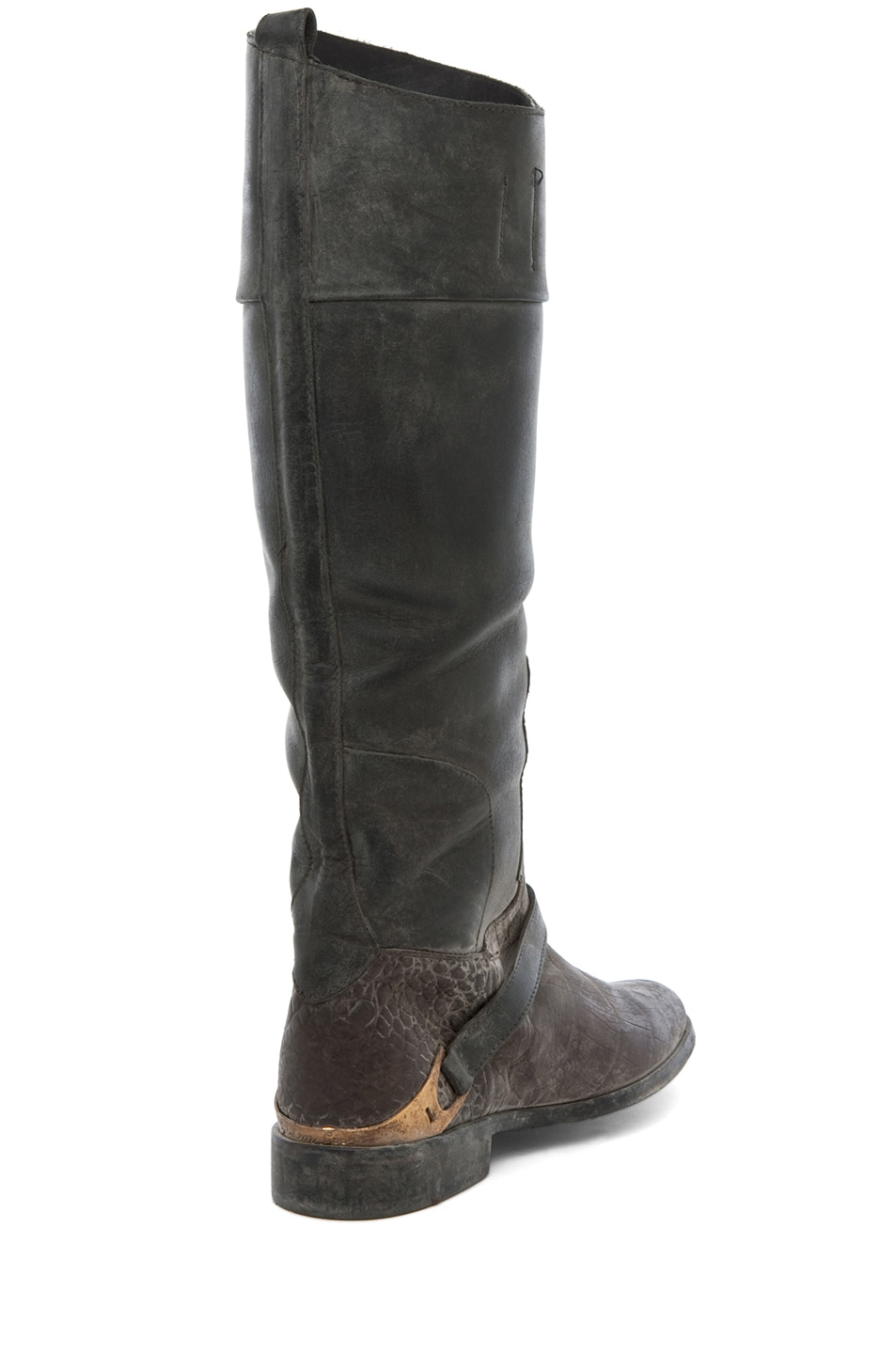 Image 3 of Golden Goose Charlye Boot in Croc Print