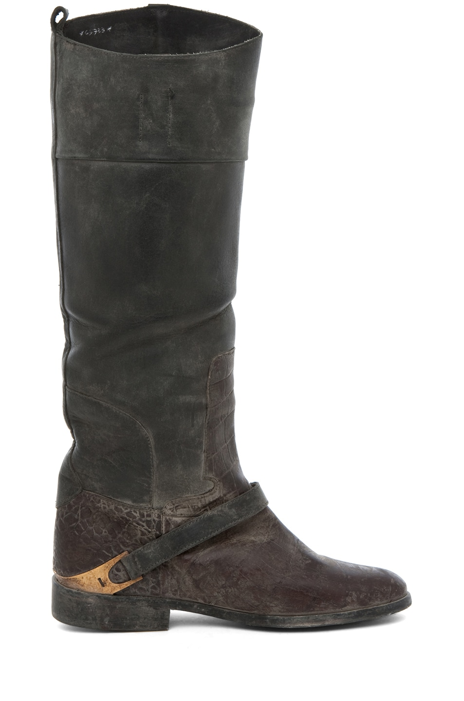 Image 5 of Golden Goose Charlye Boot in Croc Print