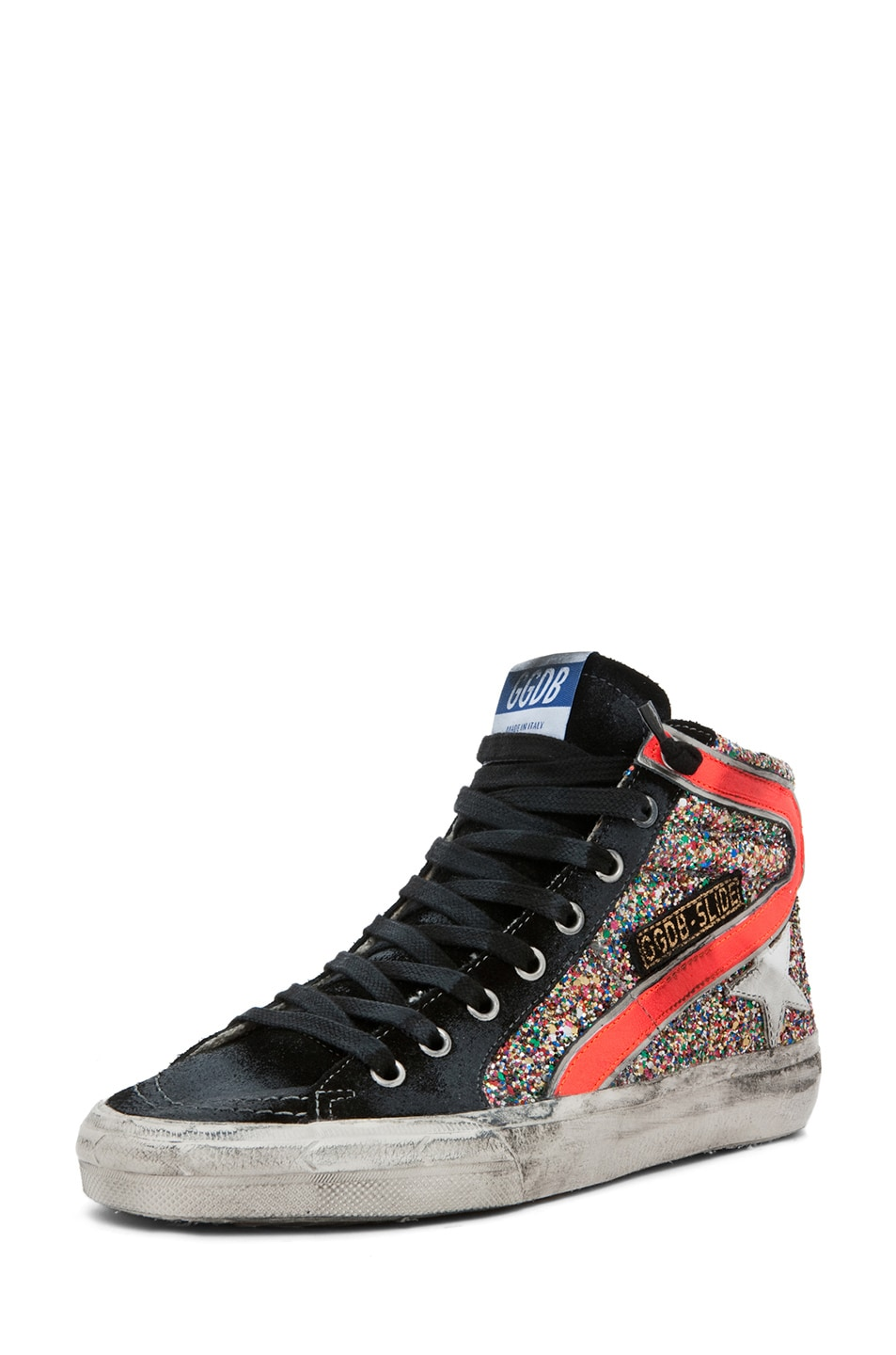 Image 2 of Golden Goose Slide Sneaker in Glitter