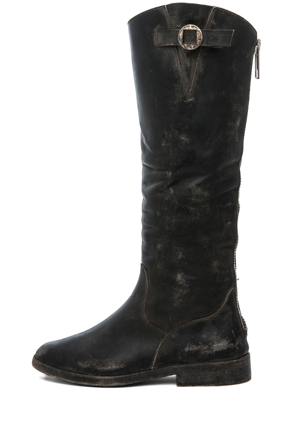 Image 1 of Golden Goose Rosebowl High Concho Boot in Black