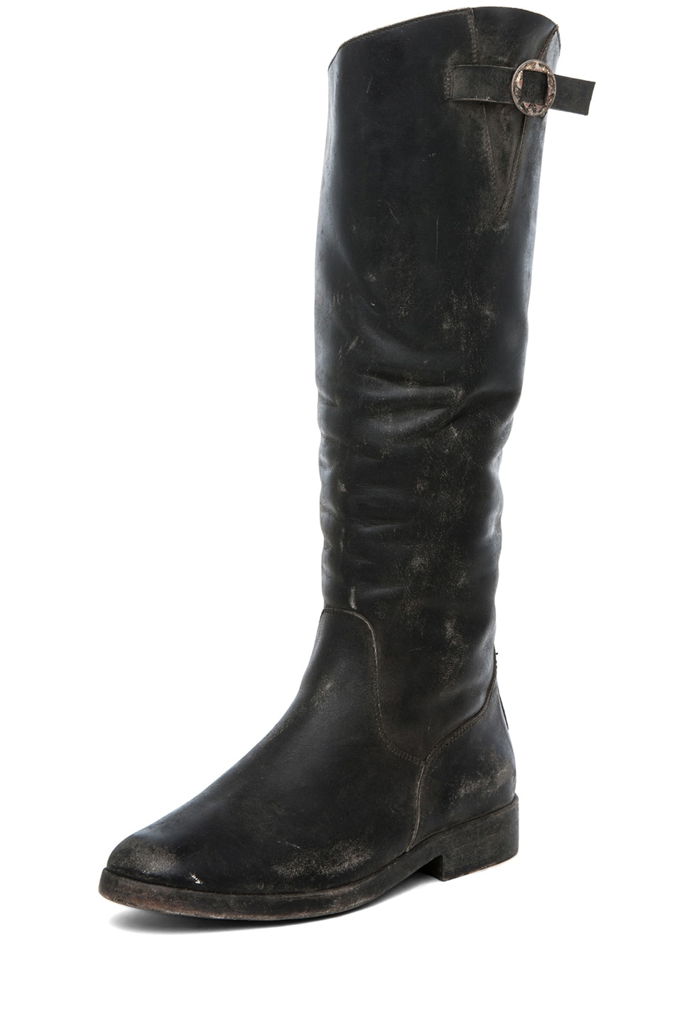 Image 2 of Golden Goose Rosebowl High Concho Boot in Black