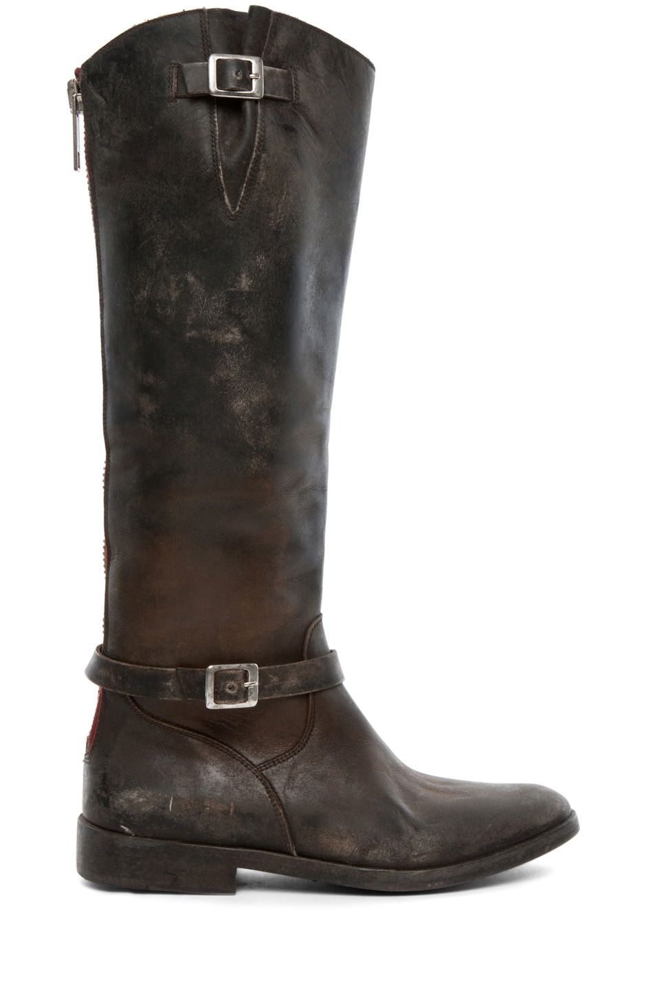 Image 1 of Golden Goose Rosebowl Leather Boots in Black