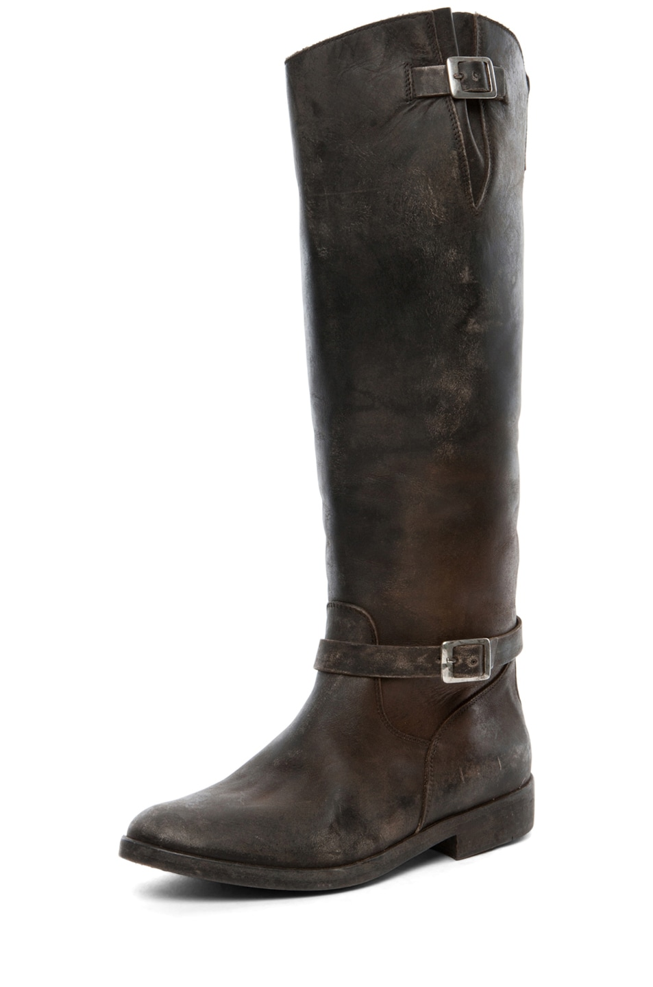Image 2 of Golden Goose Rosebowl Leather Boots in Black