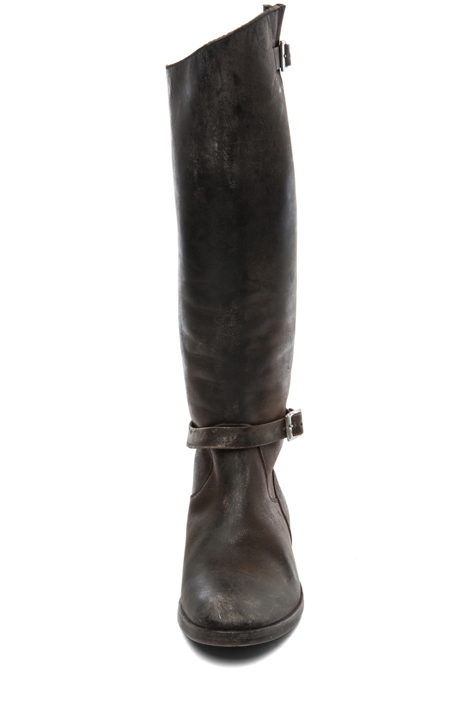 Image 4 of Golden Goose Rosebowl Leather Boots in Black