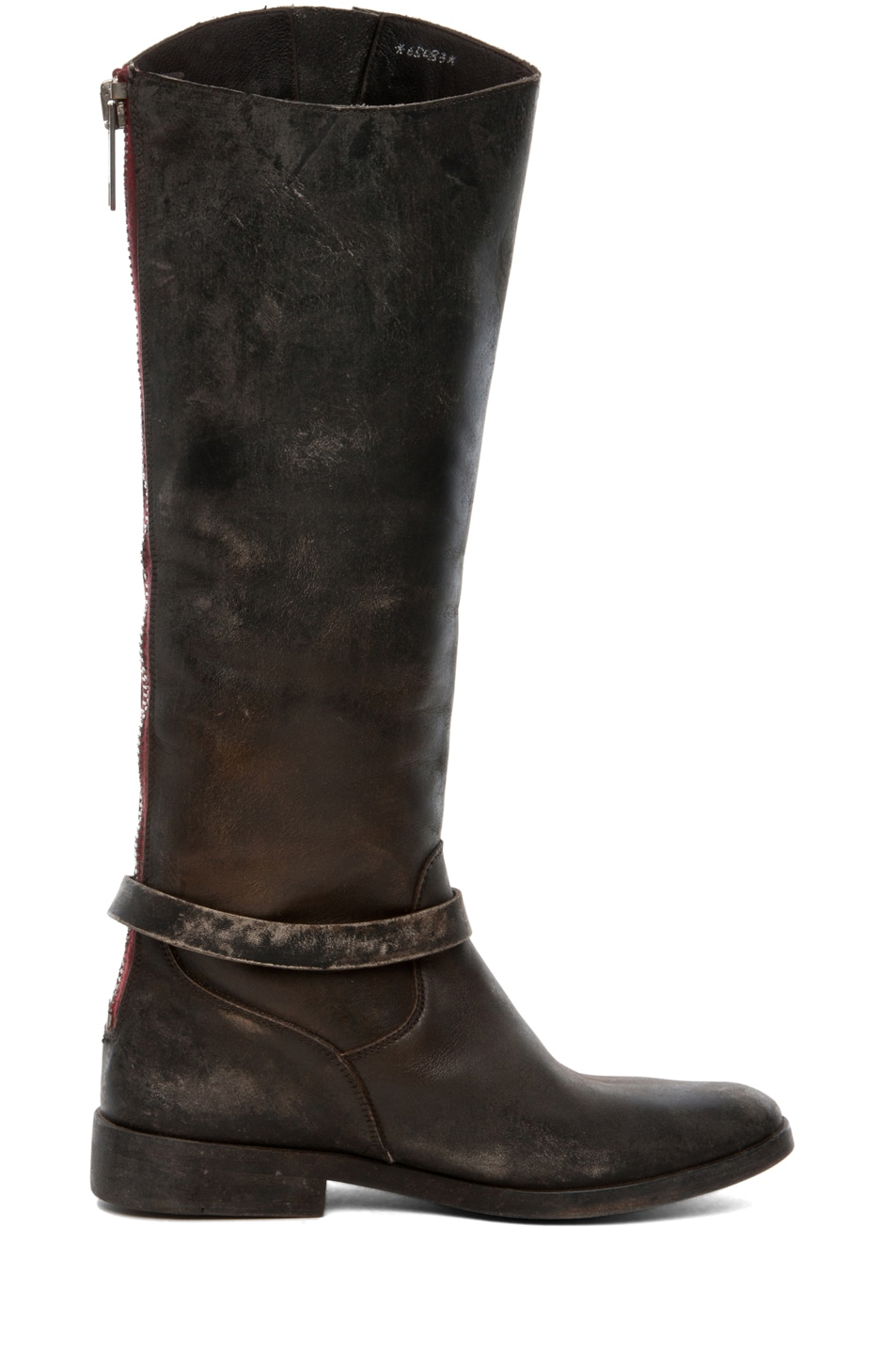 Image 5 of Golden Goose Rosebowl Leather Boots in Black