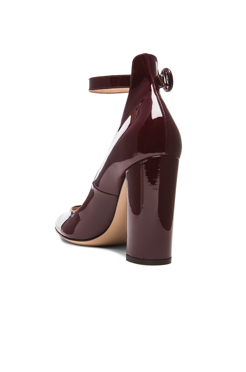 Image 3 of Gianvito Rossi Patent Leather Mary Jane Heels in Royale