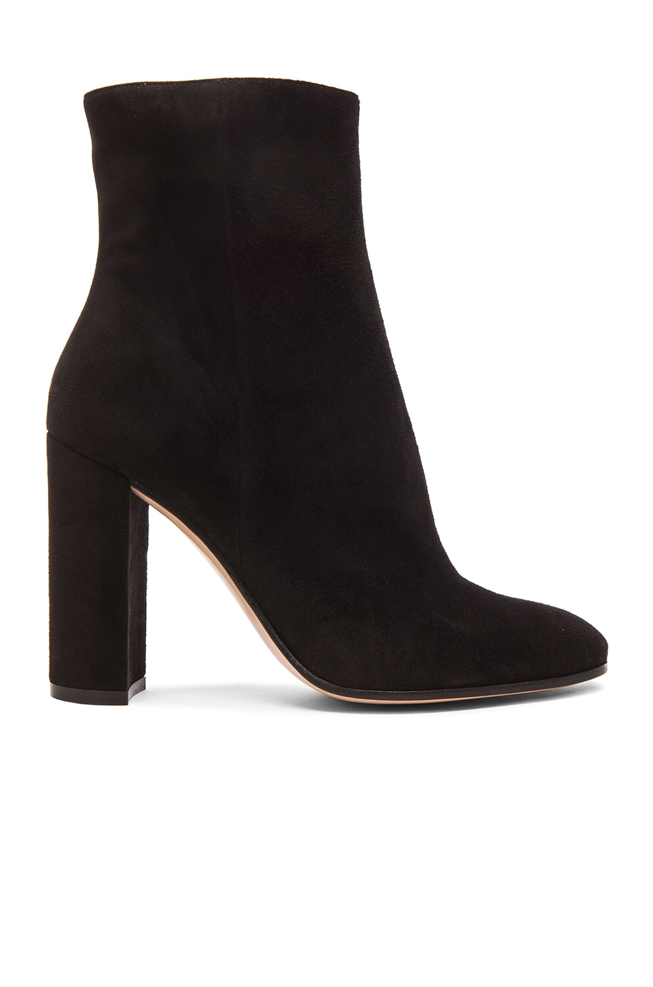 Image 1 of Gianvito Rossi Suede Booties in Black