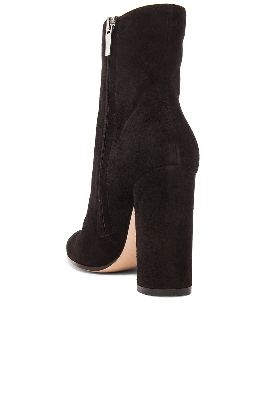 Image 3 of Gianvito Rossi Suede Booties in Black