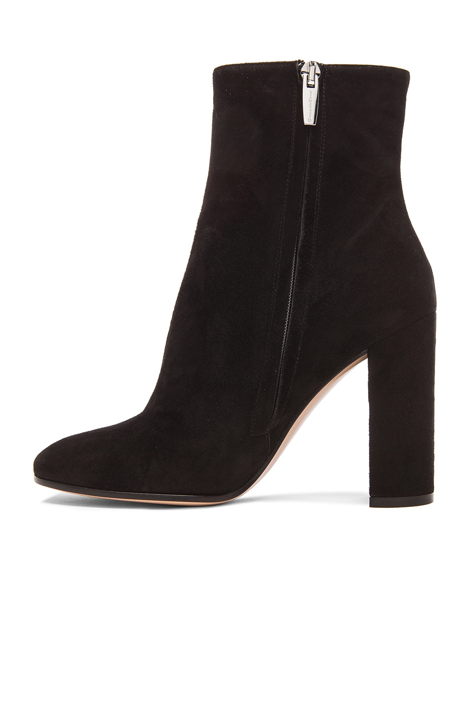 Image 5 of Gianvito Rossi Suede Booties in Black