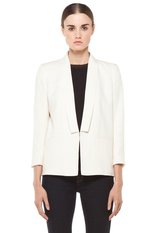 Image 1 of Girl Shawl Collar Blazer in Natural
