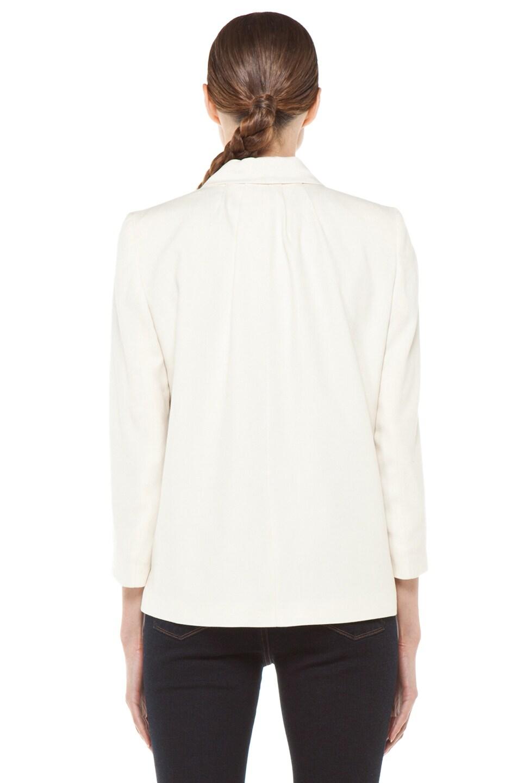 Image 5 of Girl Shawl Collar Blazer in Natural