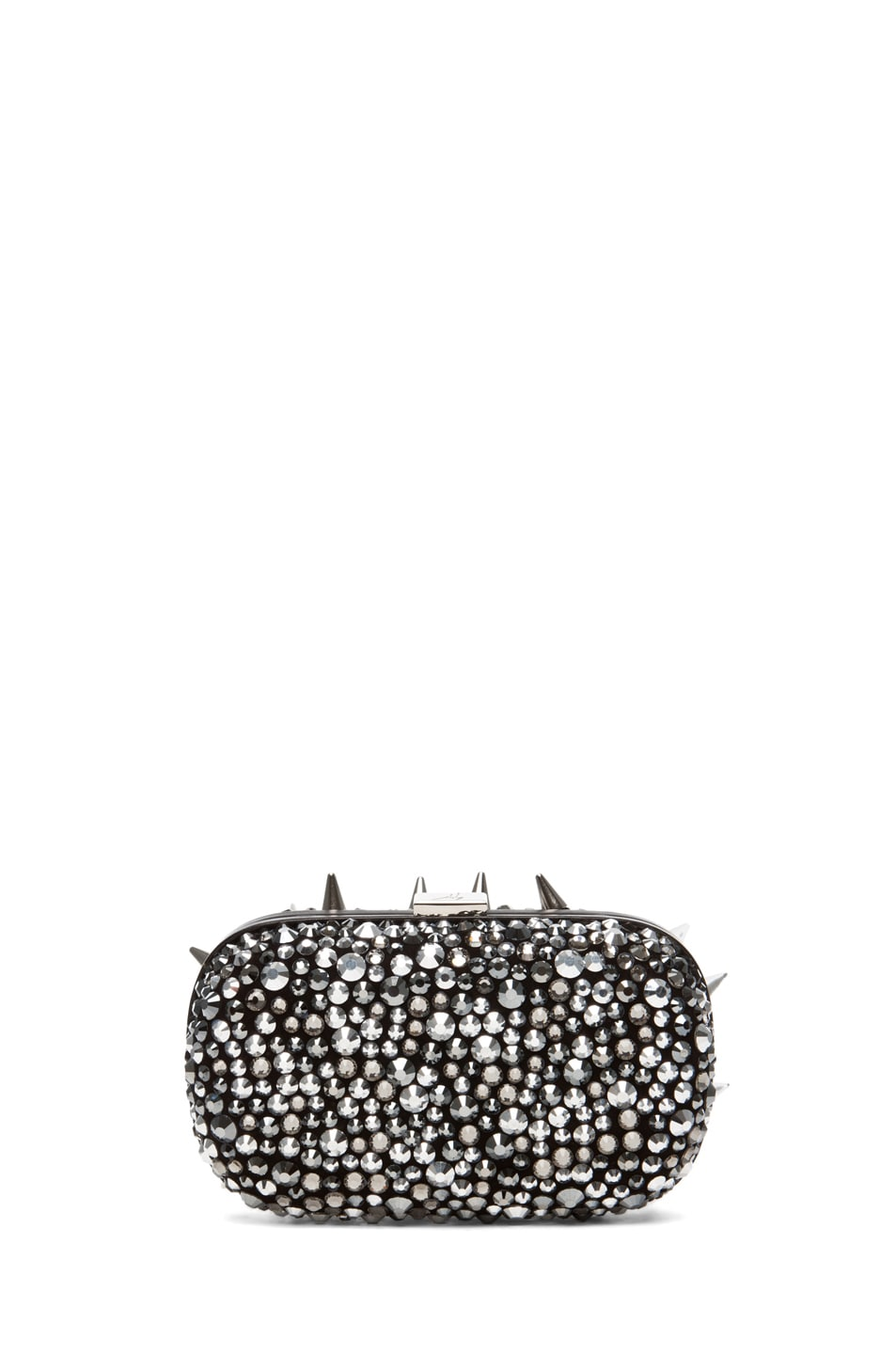 Image 2 of Giuseppe Zanotti Clutch in Pewter