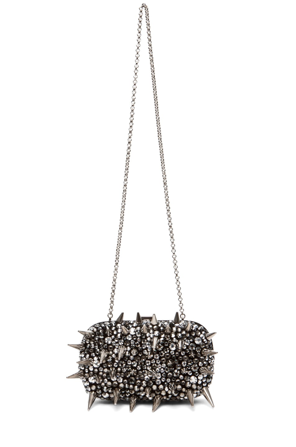 Image 5 of Giuseppe Zanotti Clutch in Pewter