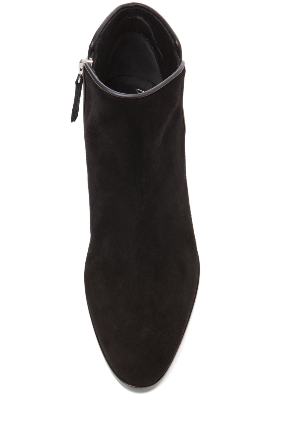 Image 4 of Giuseppe Zanotti Embellished Daddy Bootie in Black Suede