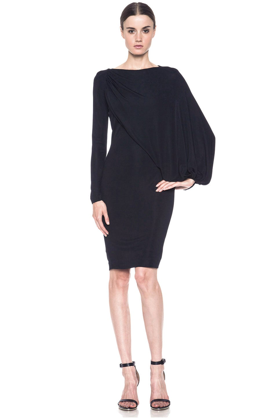 Image 1 of GIVENCHY Jersey Dress in Black