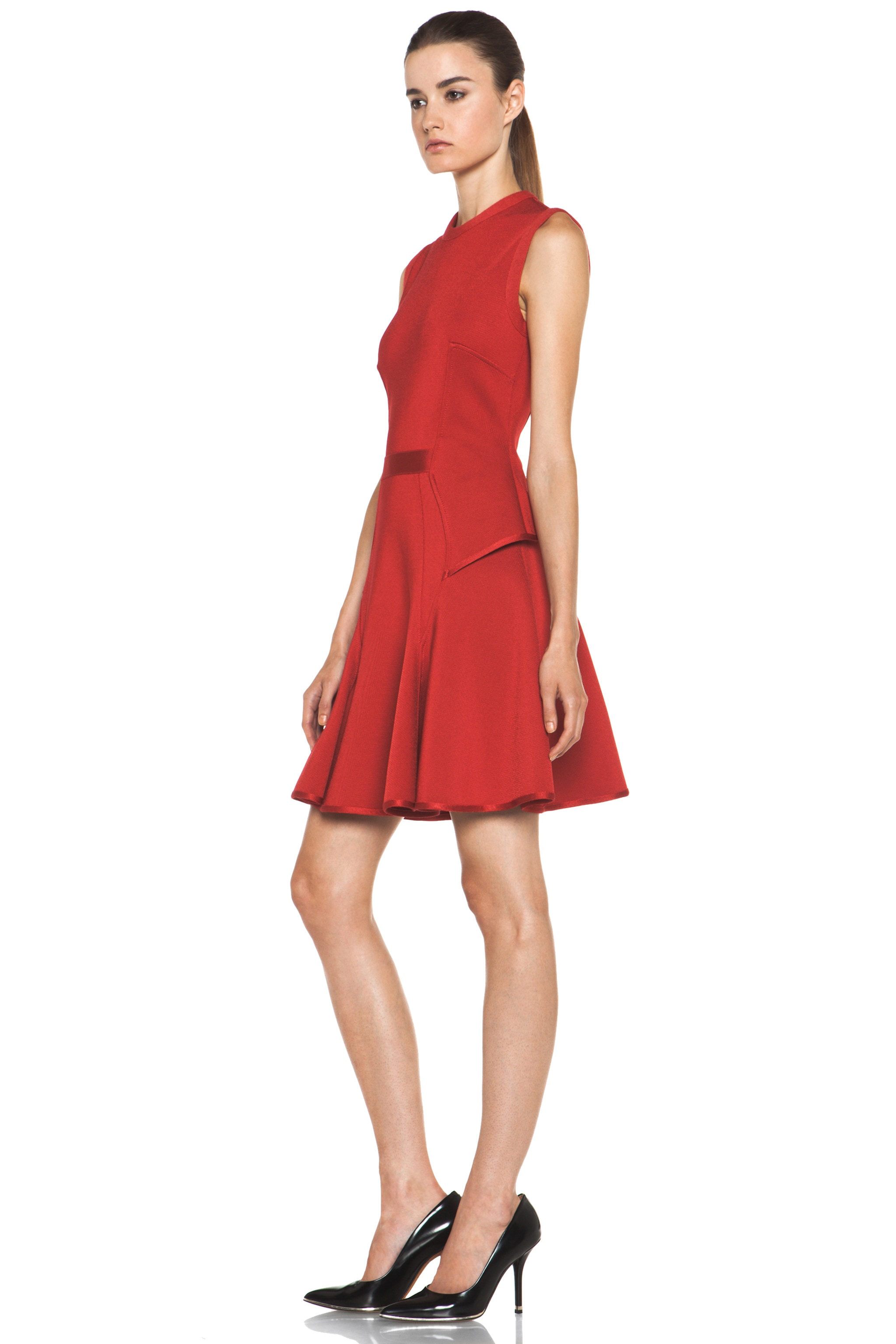 Image 2 of GIVENCHY Knit Dress in Red