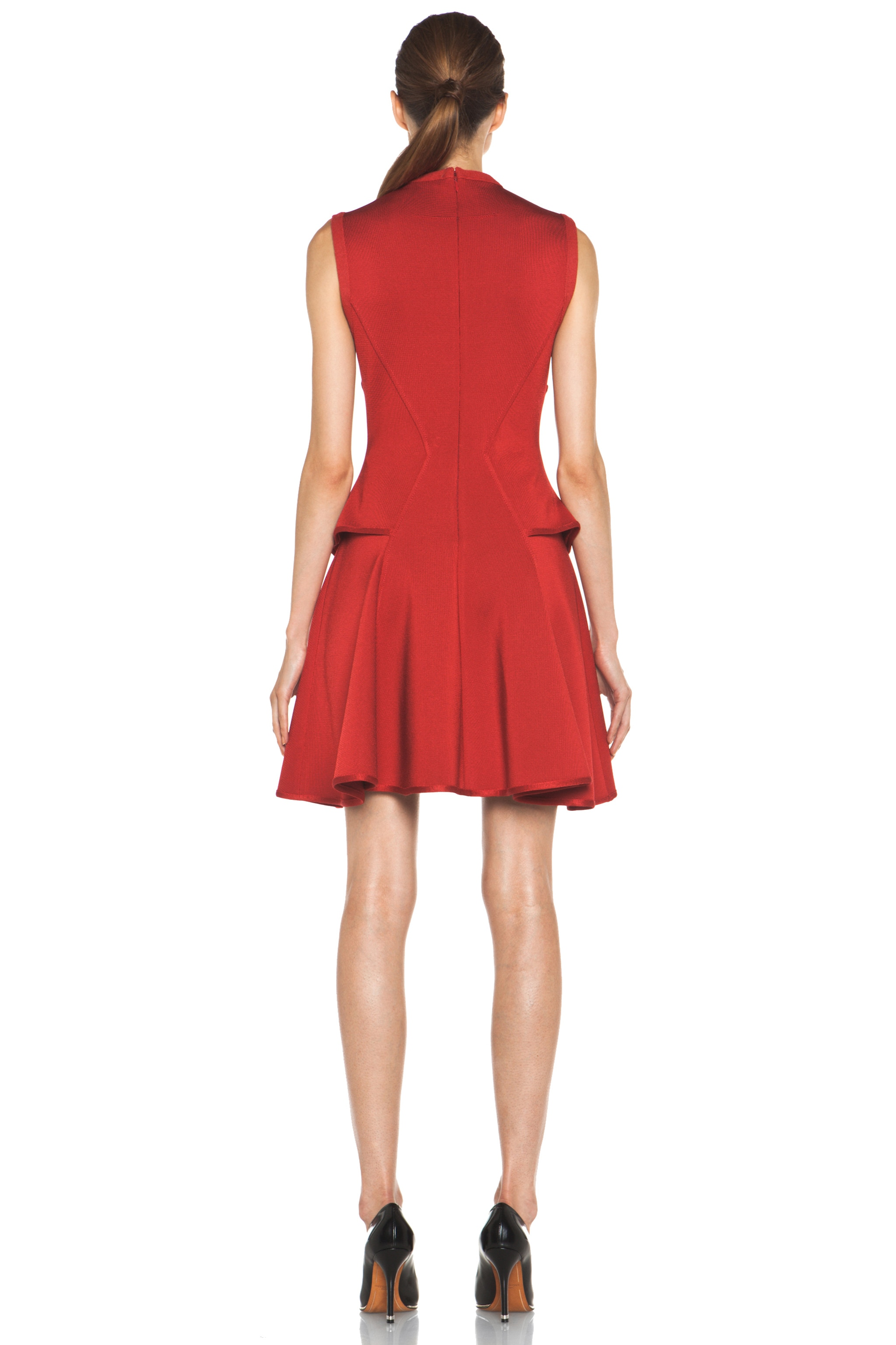 Image 4 of GIVENCHY Knit Dress in Red