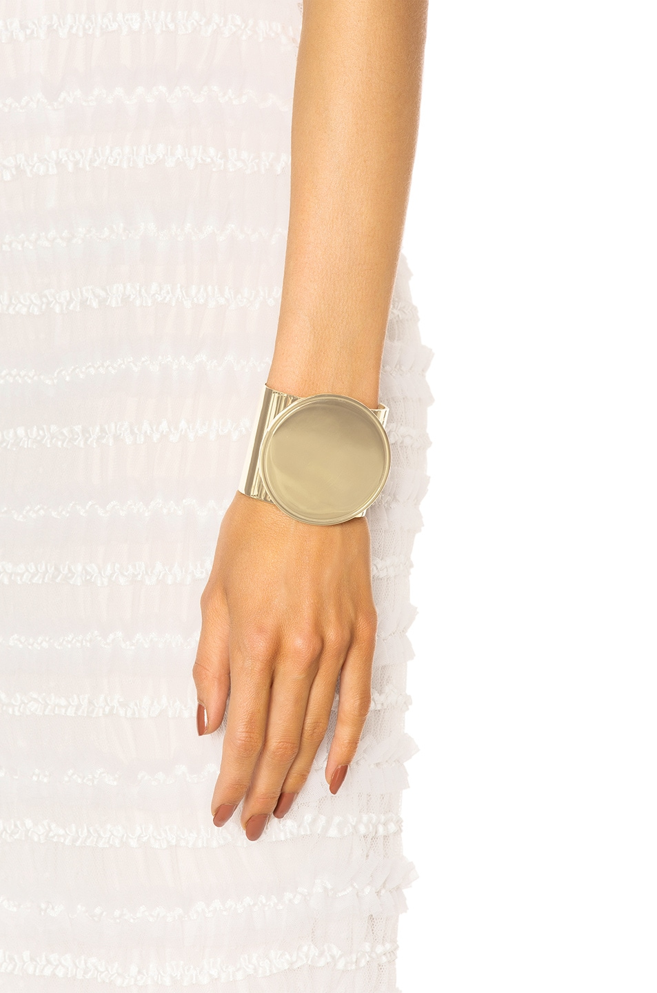 Image 4 of Givenchy Geometric Round Bracelet in Rose Gold