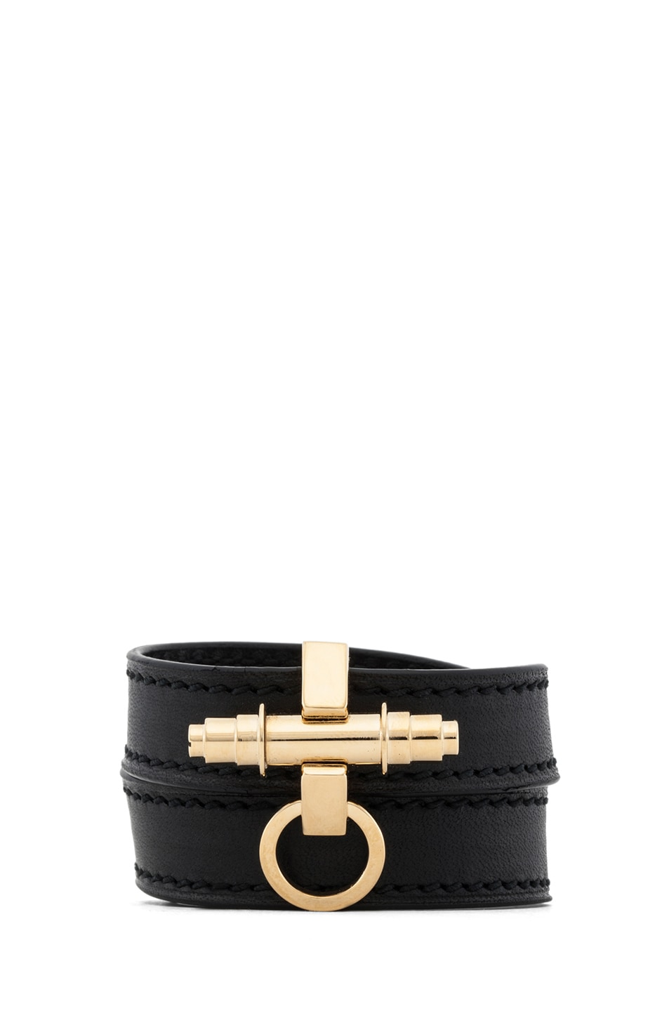 Image 1 of GIVENCHY Obsedia 3 Row Bracelet in Black