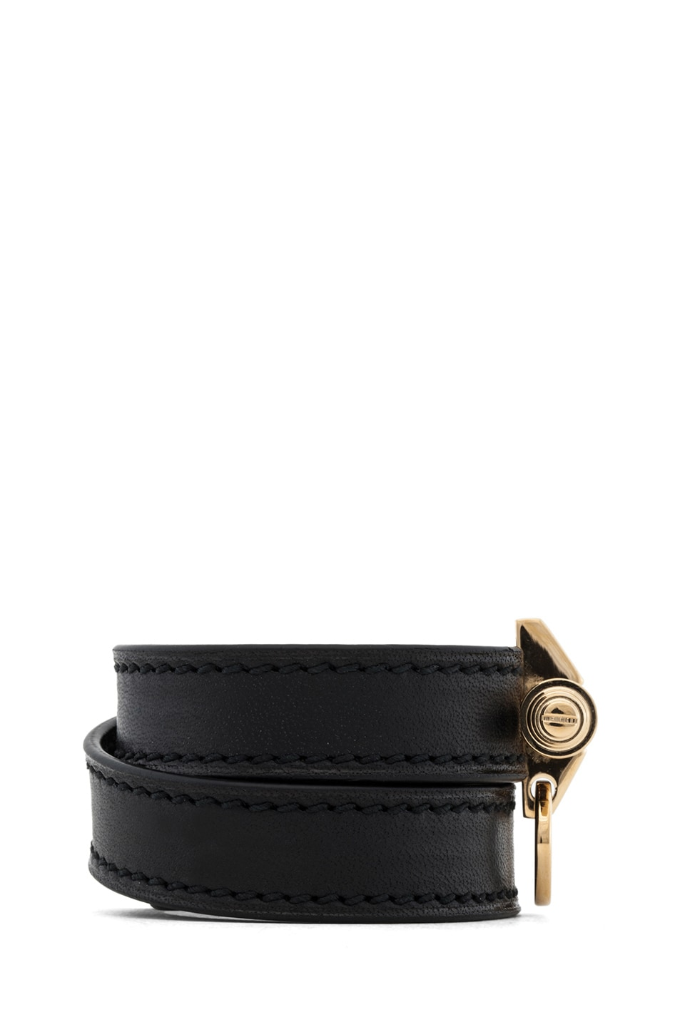 Image 2 of GIVENCHY Obsedia 3 Row Bracelet in Black