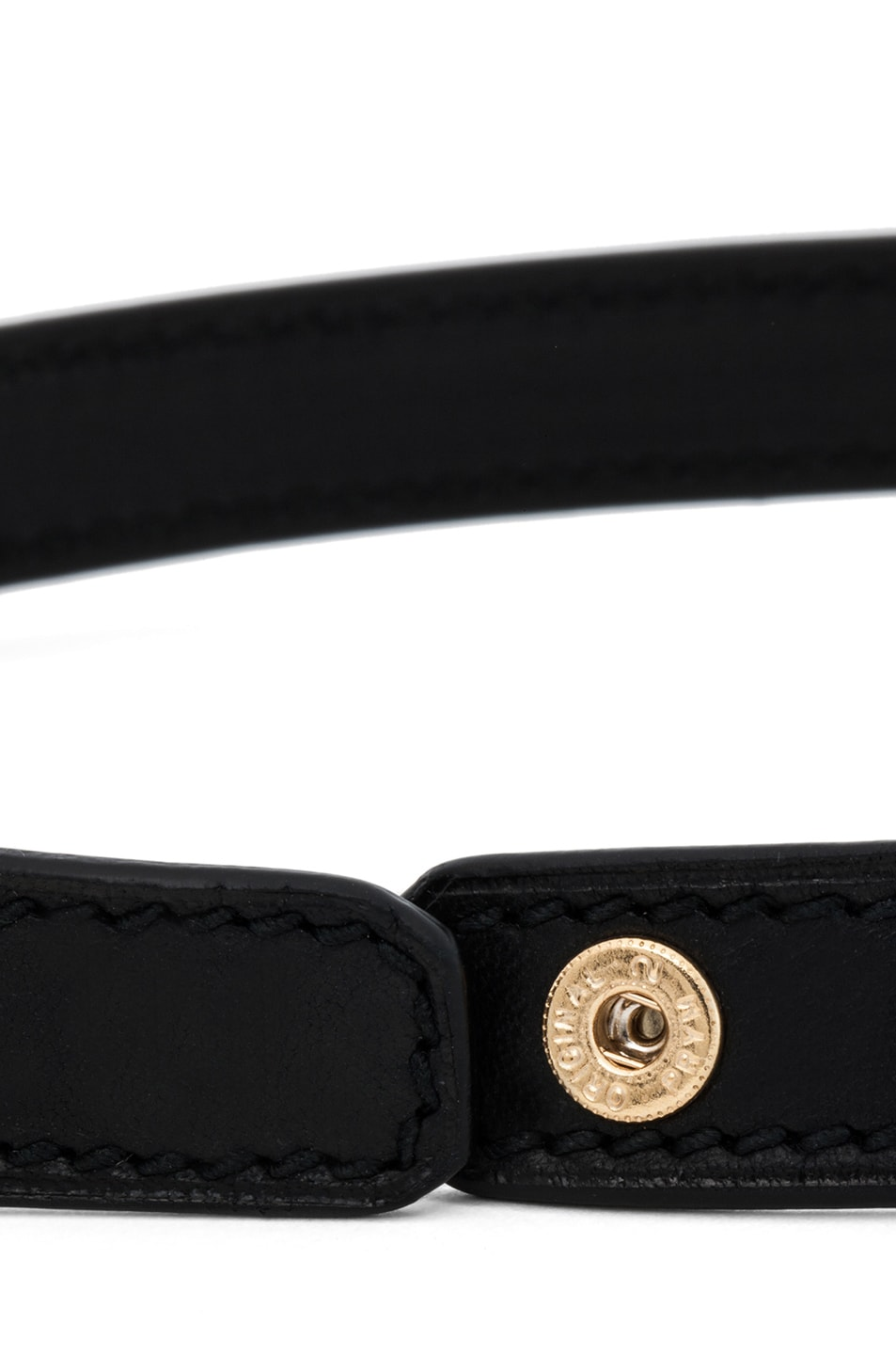 Image 4 of GIVENCHY Obsedia 3 Row Bracelet in Black