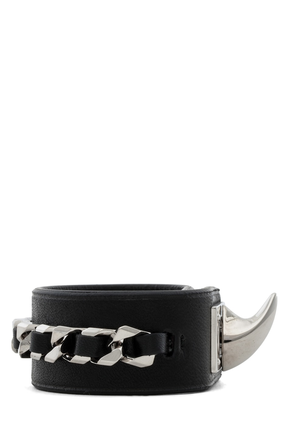 Image 2 of GIVENCHY Shark Lock Chain Bracelet in Black