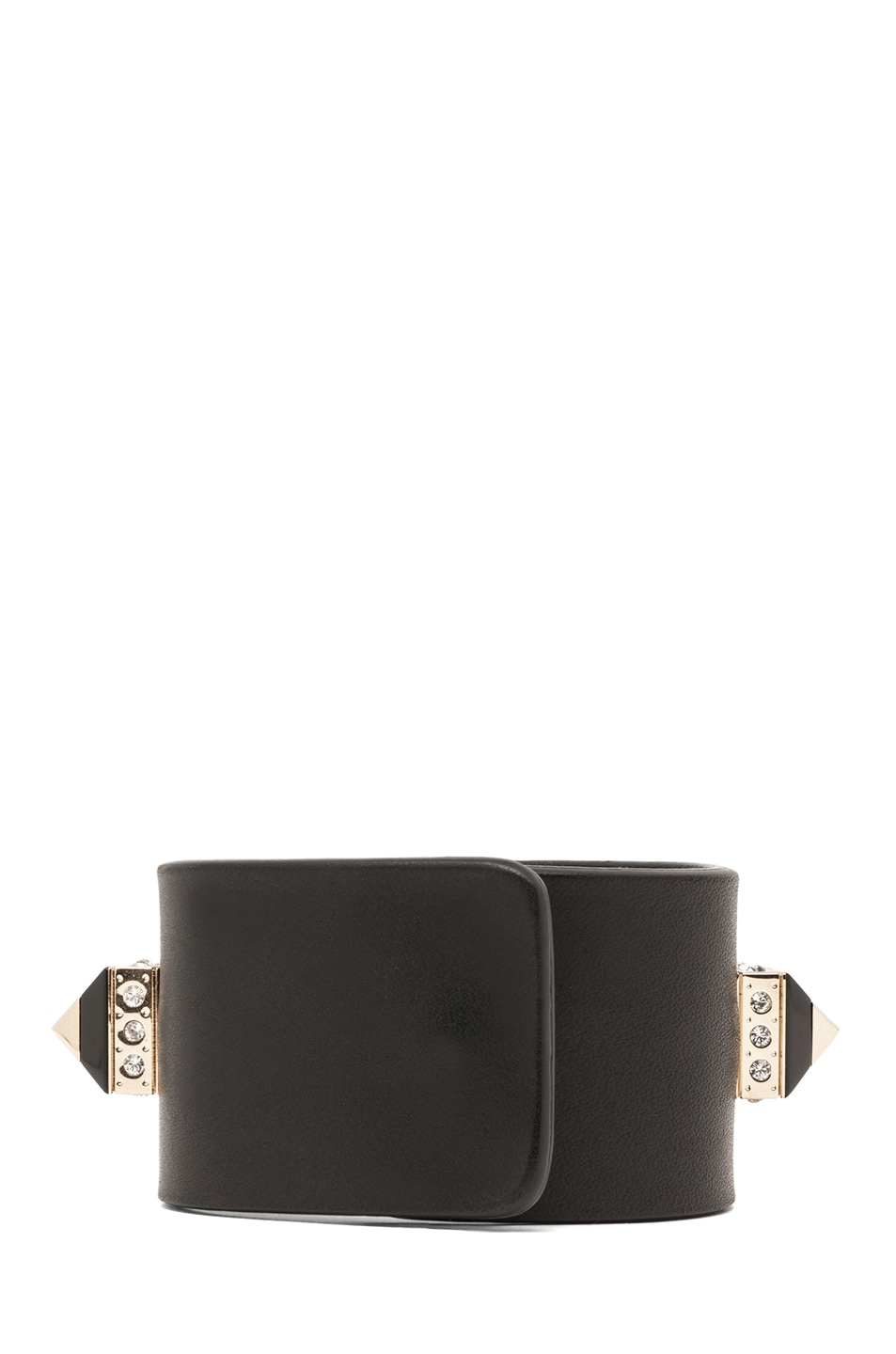 Image 3 of GIVENCHY Bracelet with Pyramid Studs in Black