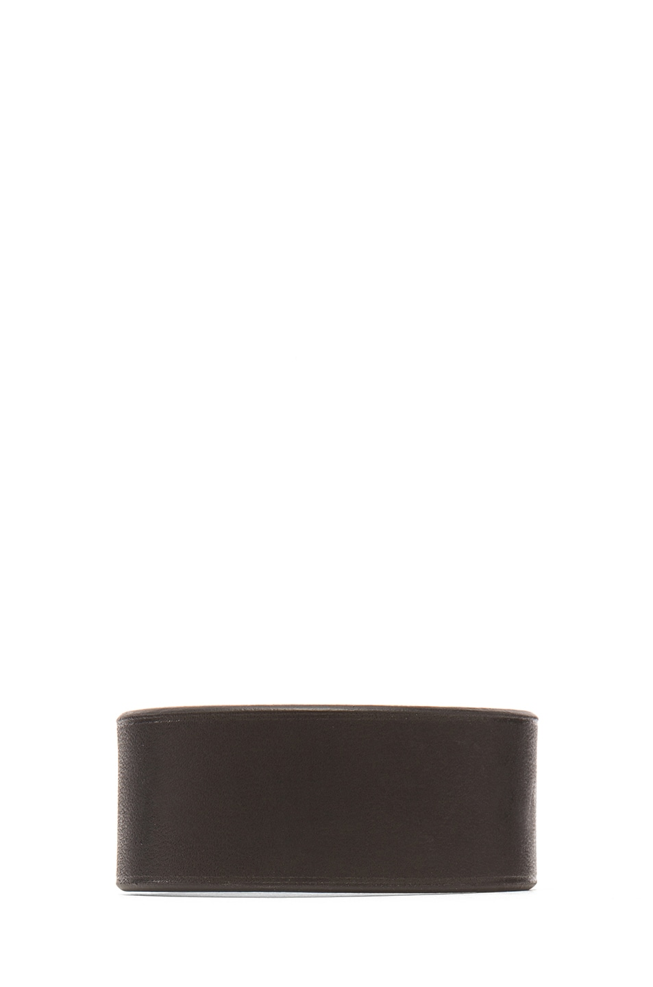 Image 3 of GIVENCHY Shark Tooth Leather Bracelet in Black
